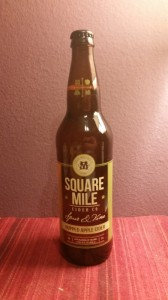"Square Mile ""Spur & Vine"" Bottle"