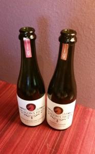 "Dragon's Head ""Manchurian Cider"" & ""Pippin Cider"" Bottles"