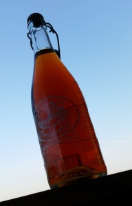 A bottle of Sea Cider Prohibition