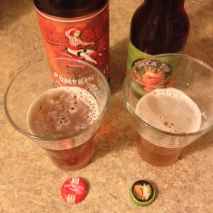 Redemption round (for me, I mean) — Red Racer vs. Shock Top