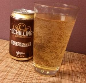 Schilling Cider Oak-Aged
