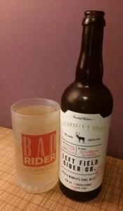 """Left Field """"Bourbon Barrel"""" Cidermaker's Select"""